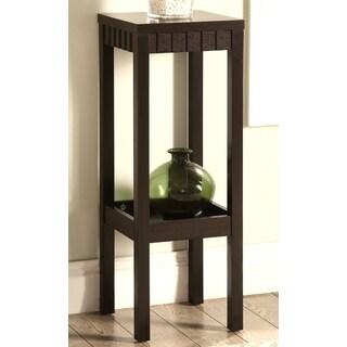 Primo Contemporary Design Cappuccino Plant Stand/ Side Table