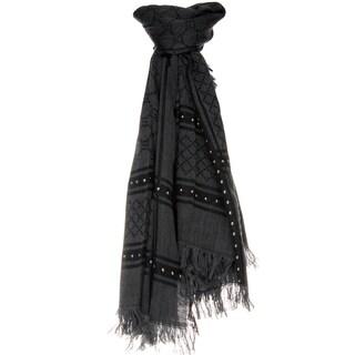 Gucci Studded Wool-Silk Shawl