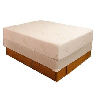 Accent 4-drawer Oak Storage Platform Bed