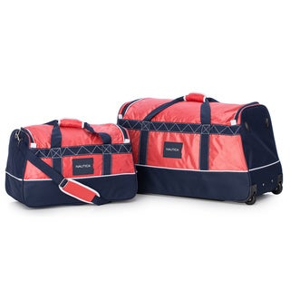 Nautica Dockside 2-Piece Wheeled Duffle Set