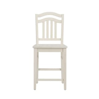 Sunpan Ikon Maiden White Faux Leather Counter Stool