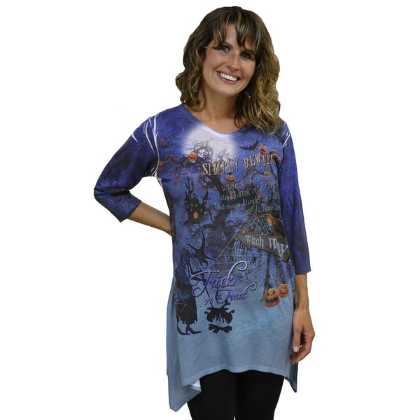 Artisans Apparel Women's 'Simply Bewitching' Sublimated Trinity T-Shirt
