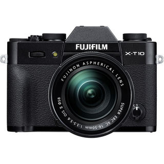 Fujifilm X-T10 Mirrorless Digital Camera with 16-50mm Lens (Black)