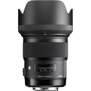 Sigma 50mm f/1.4 DG HSM Art Lens for Nikon