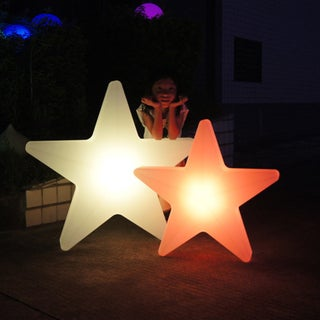 Modern LED Christmas Star Floor Light