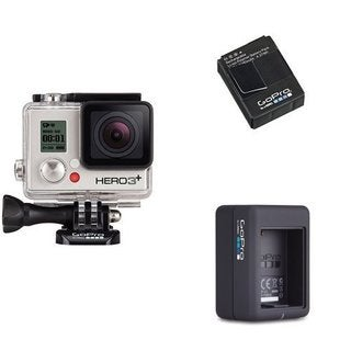 GoPro Camera HERO3+ Silver Bundle