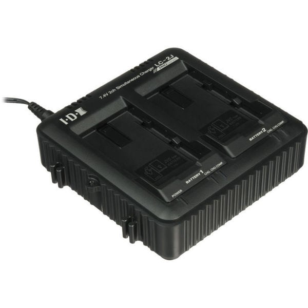 JVC LC-2J Dual Charger for SSL-JVC50