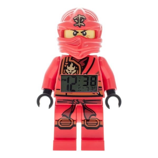 LEGO Ninjago 'Jungle Ninja Kai' Kid's Moveable Minifigure Alarm Clock