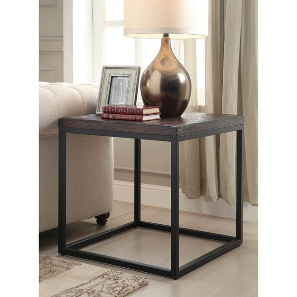 Somette Pecan End Table