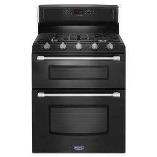Maytag Gemini Series 30-inch Freestanding Double-Oven Gas Range with Convection