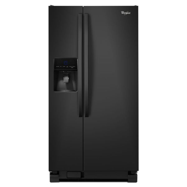 Whirlpool 21.3 cu. Ft. Side-by-Side Refrigerator with Water/Ice Dispenser