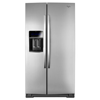 Whirlpool 20 cu. Ft Counter Depth Side-by-Side Refrigerator with water/ice dispenser