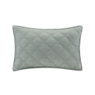 Harbor House Luciana Oblong Cotton Quilted Throw Pillow