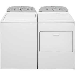 Whirlpool Cabrio Top Load Washer and Electric Dryer Pair