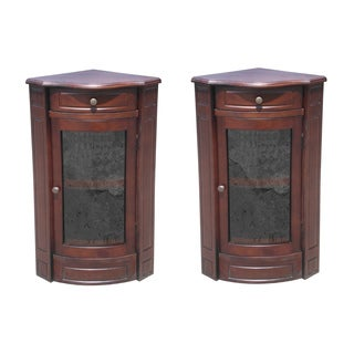 D-Art 2-piece Corner Glass Cabinet (Indonesia)