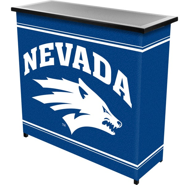 University of Nevada 2 Shelf Portable Bar with Case