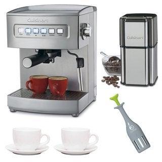 Cuisinart EM-200 15-Bar Espresso Maker Bundle (Refurbished)