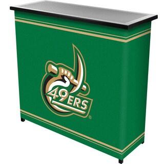 University of North Carolina 2 Shelf Portable Bar w/ Case