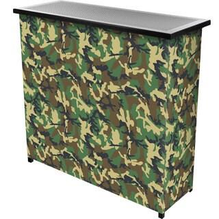 Hunt Camo 2 Shelf Portable Bar w/ Case