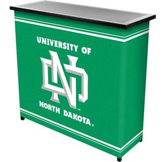 University of North Dakota 2 Shelf Portable Bar w/ Case