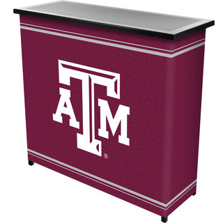 Texas A&M University 2 Shelf Portable Bar w/ Case