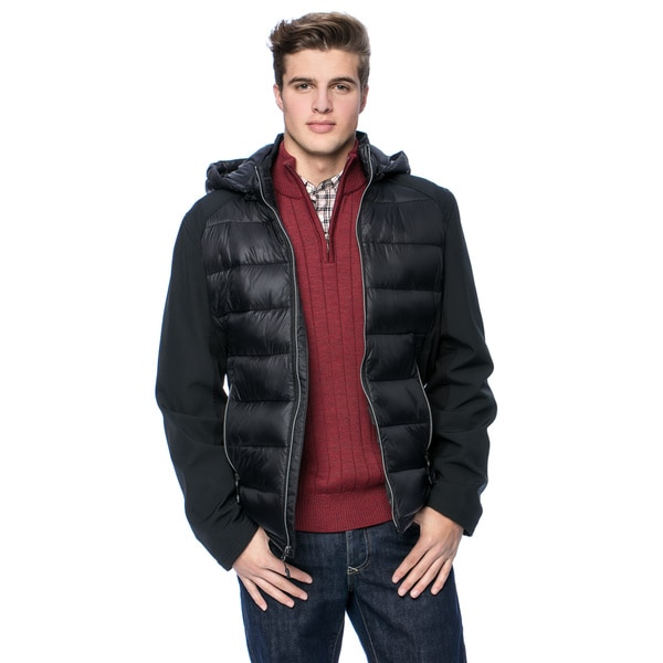 Halifax Men's Nylon/ Softshell Jacket