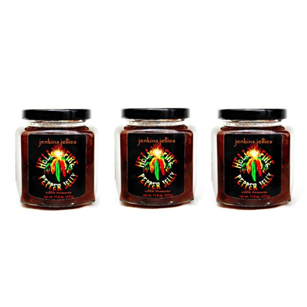 Jenkins Jellies 'Hell Fire' Jelly Trio (Set of 3)