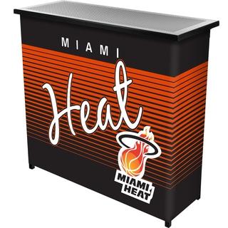 Miami Heat Hardwood Classics NBA Portable Bar w/Case
