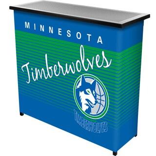 Minnesota Timberwolves Hardwood Classics NBA Portable Bar w/Case