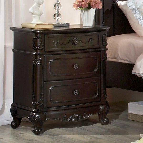 TRIBECCA HOME Fairytale Victorian Princess End Table