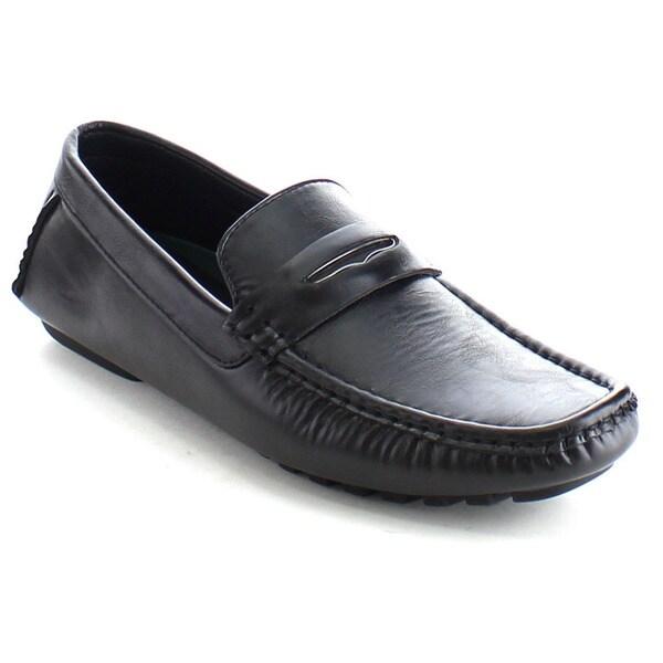 Rocus Men's Slip On Mocassin Driving Loafers