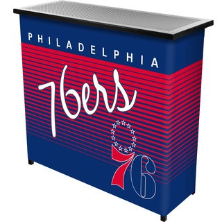 Philadelphia 76ers Hardwood Classics NBA Portable Bar w/Case