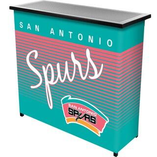 San Antonio Spurs Hardwood Classics NBA Portable Bar w/Case