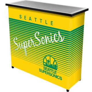 Seattle Super Sonics Hardwood Classics NBA Portable Bar w/Case