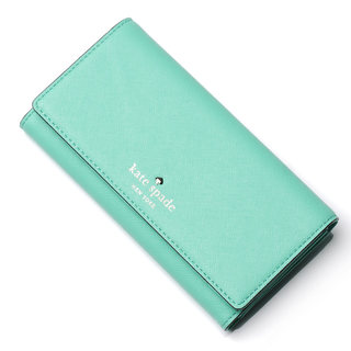Kate Spade New York Women's Nika Leather Tri-Fold Wallet