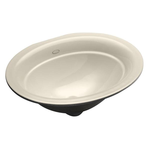Kohler Serif Undermount Bathroom Sink in Biscuit