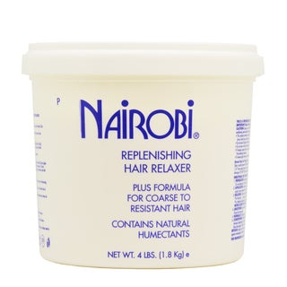 Nairobi Replenishing 64-ounce Hair Relaxer Plus Formula for Coarse to Resistant Hair Relaxer