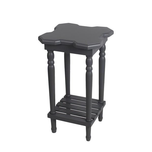 Privilege International Grey Accent Table