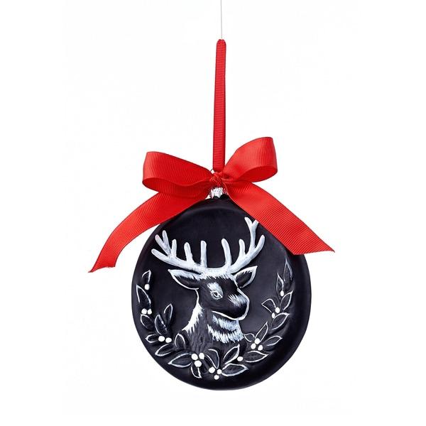 Chalkboard Reindeer Ornament