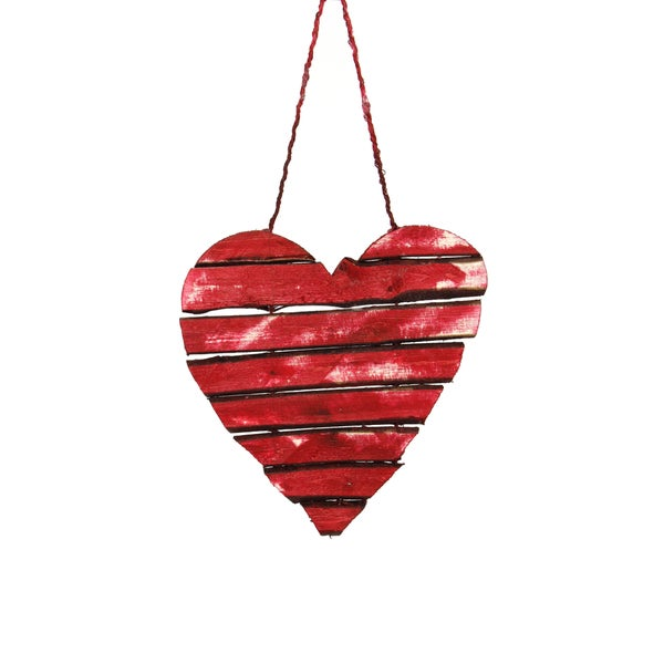 Twig Heart Ornament