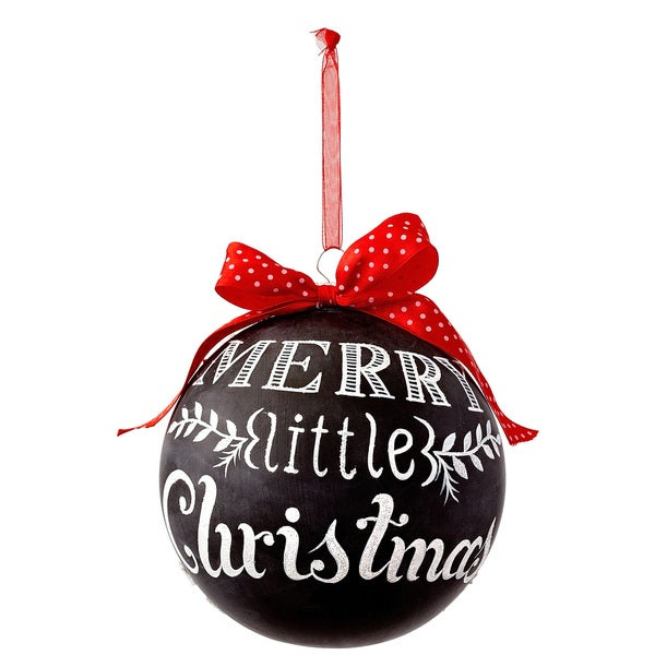 Merry Christmas Chalkboard Ornament