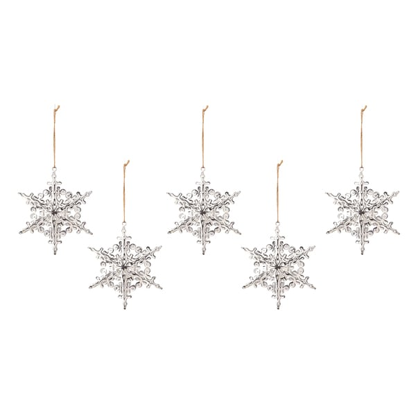 Tin Dimensional Star Ornament