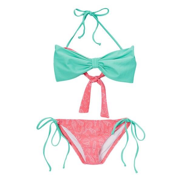 Dippin' Daisy's Children's Popsicle Bow Bandeau Bikini
