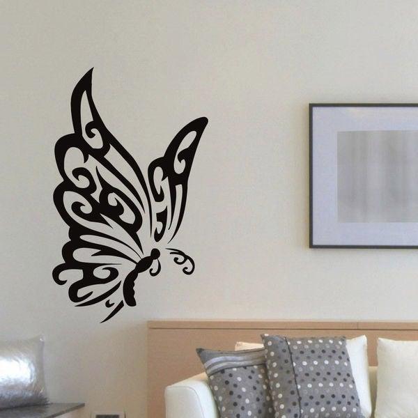 Tattoo Butterfly Vinyl Wall Art Decal Sticker