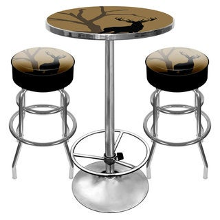 Hunt Deer Combo - 2 Bar Stools and Table