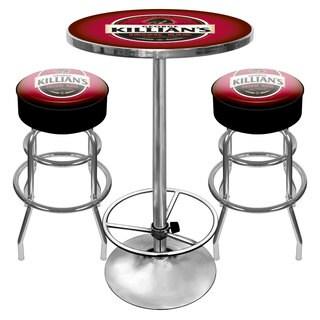 Killians Beer Gameroom Pub Table and Stools Combo