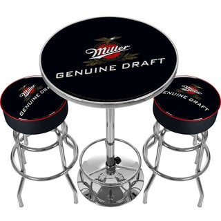Ultimate Miller Genuine Draft Pub Table and Stools Combo