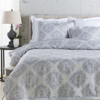 Sheena Floral Linen/Cotton Duvet Cover