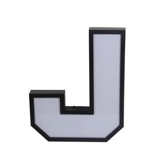 Privilege LED Letter 'J' Wall Decor