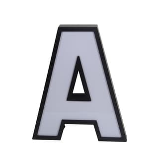 Privilge LED Letter 'A' Wall Decor